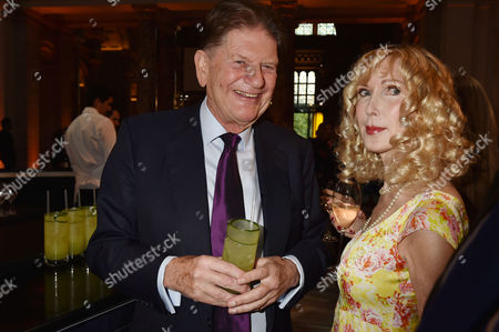 London, England, 22th June 2016: John Madejski and Basia Briggs at the V&a Summer Party, London On the 22nd June 2016.