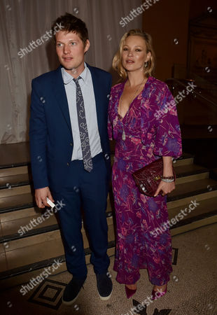 London, England, 22th June 2016: Kate Moss and Leopold Von Bismarck at the V&a Summer Party, London On the 22nd June 2016.