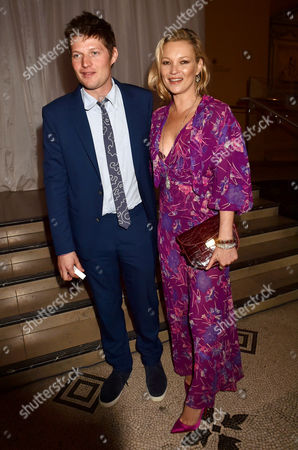 London England 22nd June 2016 - Kate Moss and Leopold Von Bismarck at the Victoria and Albert Museum Summer Party Held at the V&a in London On the 22nd June 2016.