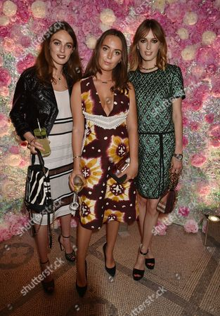 London England 22nd June 2016 - Alice, Eliza and Violet Manners at the Victoria and Albert Museum Summer Party Held at the V&a in London On the 22nd June 2016.