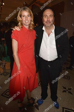 AA Gill and Nicola Formby