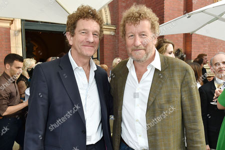 London England 22nd June 2016 - Edward Faulks with His Brother Sebastian Faulks at the Victoria and Albert Museum Summer Party Held at the V&a in London On the 22nd June 2016.