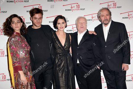 Matilda De Angelis, Lorenzo Richelmy, Annabel Scholey, Richard Dreyfuss and Giuseppe Piccioni