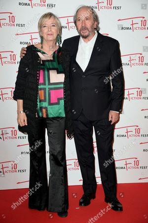 Piera Detassis and Giuseppe Piccioni