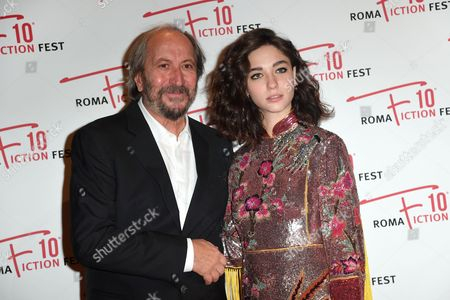 Giuseppe Piccioni and Matilda De Angelis