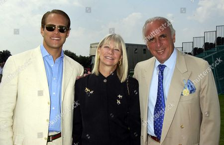 Cartier International Polo at Smiths Lawn Bryan & Greta Morrison with Their Son James
