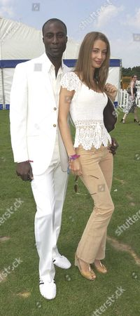 Cartier International Polo at Smiths Lawn Oswald Boateng & Wife