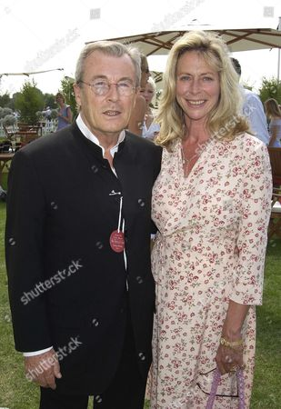 Cartier International Polo at Smiths Lawn Terry O'neill with His Wife Lorraine Ashton