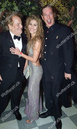 the Best Awards at Le Royal Monceau Hotel in Paris Massimo Gargia with Thomas Kramer & Lianette Beltran