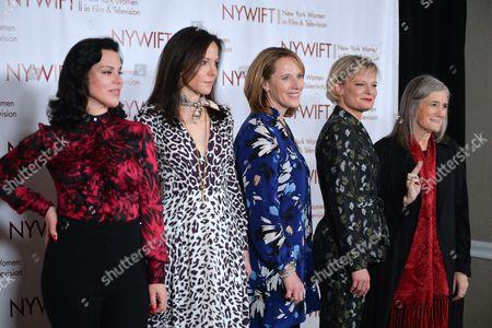 Debi Mazar, Mary-Louise Parker, Jacki Kelley, Martha Plimpton, Amy Goodman