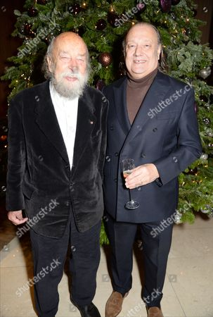 Stock Photo of Roy Ackerman and David Chambers