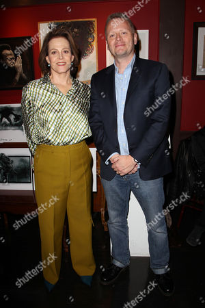 Sigourney Weaver and Patrick Ness (Writer)