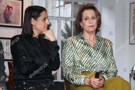Belen Atienza (Producer) and Sigourney Weaver