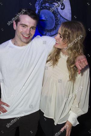 Stock Image of Ludovic Hughes (Jay Gatsby) and Cressida Bonas (Daisy Buchanan)