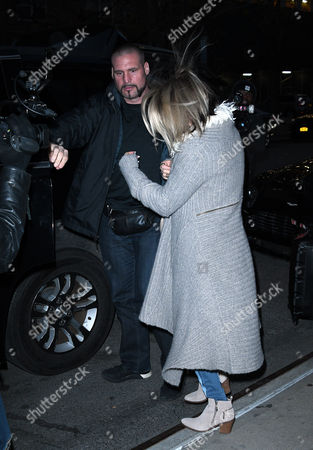 Editorial picture of Fergie Duhammel out and about, New York, USA - 08 Dec 2016