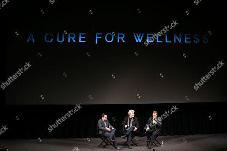 Dave Karger, Gore Verbinski, Dane Dehaan