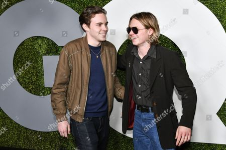 GQ Men of the Year Party, Arrivals, Chateau Marmont, Los Angeles, USA - 08 Dec 2016: редакционная картинка