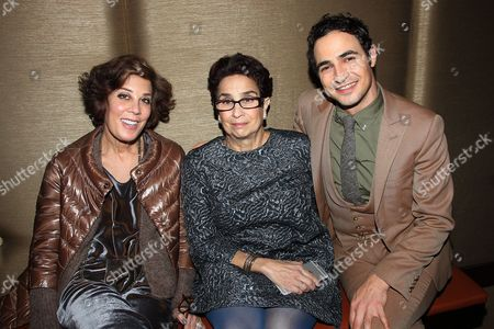 Peggy Siegal, Susan Posen and Zac Posen