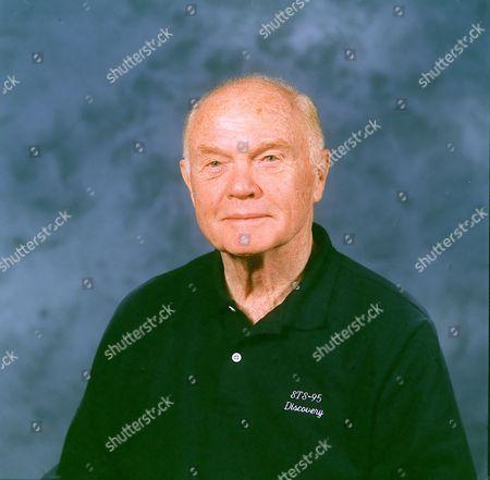 Editorial photo of John Glenn