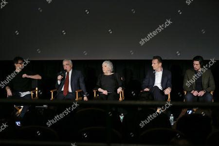 Bennett Miller (Moderator), Martin Scorsese (Director), Thelma Schoonmaker (Editor), Liam Neeson, Adam Driver