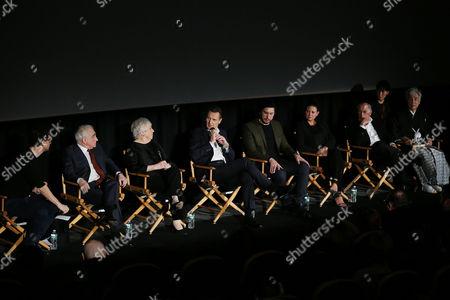 Bennett Miller (Moderator), Martin Scorsese (Director), Thelma Schoonmaker (Editor), Liam Neeson, Adam Driver, Emma Tillinger Koskoff, Irwin Winkler, Issey Ogata