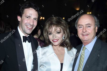 Ist Night of 'Over the Moon' at the Old Vic and Party at Thye Waldorf Hotel Joan Collins with Her Family Cliff Richard Cilla Black Frank Langella Moira Lister with Her Daughters Hannah Gordonb Gloria Hunniford Chris Biggins