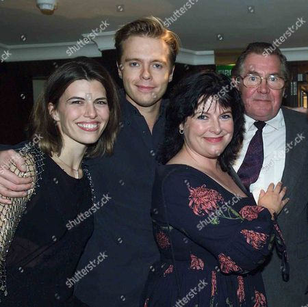 Ist Night of Starr Quality at the Apollo Theatre & Party at the Meridan Hotel Derek Waring & Daughter Amanda & Son Nick with Wife Sophie His Wife and Their Mother Was Dorothy Tutin