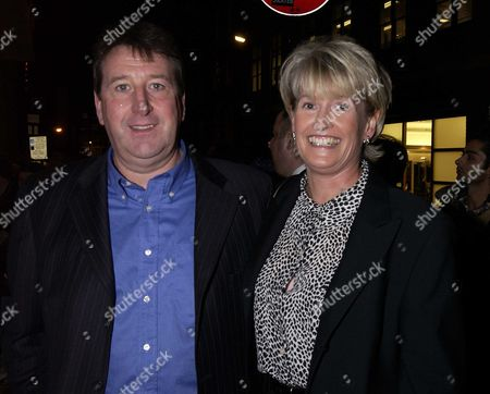 Ist Night of the New Hit Musicial Based On the Music of Hit Band 'Madness' 'Our House' at the Cambridge Theatre and Party at the Alantic Bar & Grill Richard Littlejohn & Wife