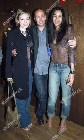 Party at 'Toast' Hampstead For the Premiere of 'Long Time Dead' at the Everyman Cinema Director of the Film Marcus Adams with Two of the Films Actresses Melanie Gutteridge(l) and Marsha Thomason(r)