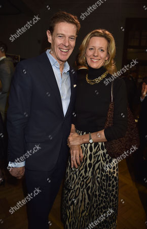 Stock Image of 24 11 15 the Csj Awards 2015 at Lindley Hall Royal Horticultural Halls Victoria London James and Julia Ogilvy