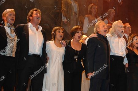 21st Anniversary Show of 'Les Miserables' at the Queens Theatre Shaftsbury Ave London This Makes' Les Miserables' the Worlds Longest Running Musical Taking Over From' Cats' Jon Lee Michael Ball Sophia Ragavelas Patti Lapone Colm Wilkinson & John Owen-jones