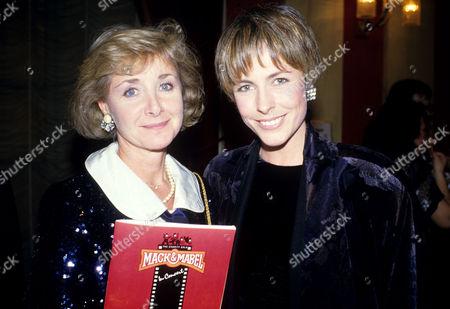'Mack and Mabel' Angela Douglas with Liz Robertson