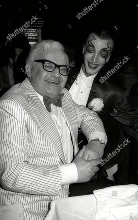 'Y' Cabaret at the Piccadilly Theatre Ronnie Barker and Arturo Brachetti