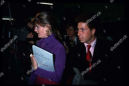 March 1988 London Fashion Week Party Susannah Constantine and Viscount David Linley