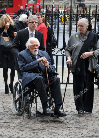 A Service of Thanksgiving For Dame Joan Sutherand at Westminster Abbey Westminster London George Lascelles 7th Earl of Harewood