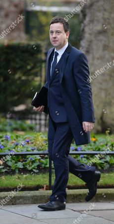 Stock Picture of Arrivals For National Newspapers Editors at Number 10 Downing Street Westminster London Editor of the Sun Dominic Mohan