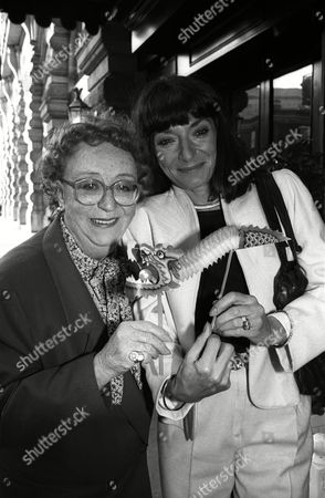 Bafta Nominations Thora Hird with Jane Lapotaire