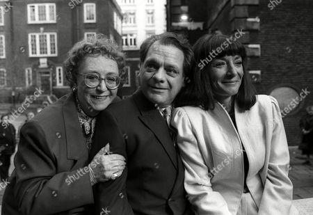 Bafta Nominations Jane Lapotaire with David Jason and Thora Hird
