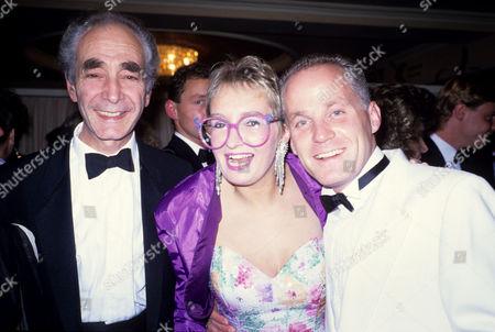 Stock Photo of Eastenders Party Leonard Fenton Sue Pollard and Michael Cashman