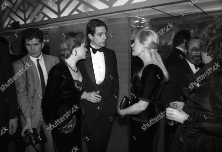 Evening Standard Film Awards Jeremy Irons and His Wife Sinead Cusack with the Duchess of Kent Katharine Windsor