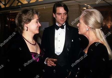 Evening Standard Film Awards Jeremy Irons with His Wife Sinead Cusack and with the Duchess of Kent Katharine Windsor