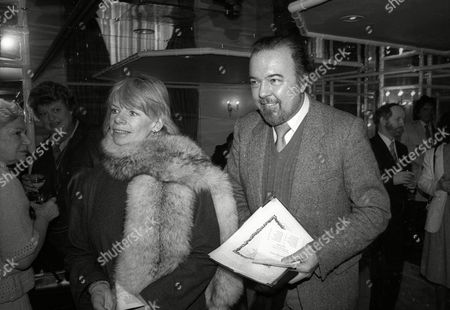 Foyles Lunch at the Dorchester Hotel Jill Bennett with Sir Peter Hall