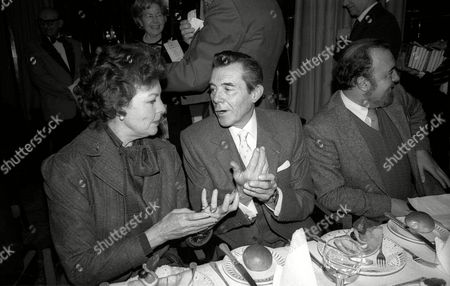 Foyles Lunch at the Dorchester Hotel Ava Gardner with Dirk Bogarde