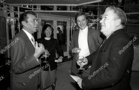 Foyles Lunch at the Dorchester Hotel Dirk Bogarde with Kingsley Amis