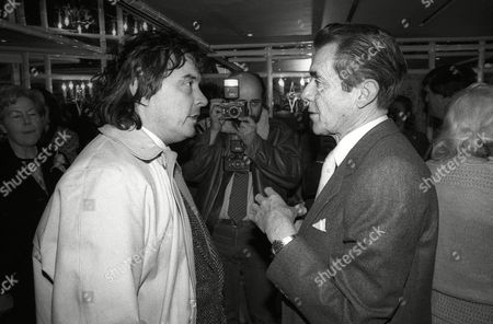 Stock Picture of Foyles Lunch at the Dorchester Hotel Dirk Bogarde with David Bailey