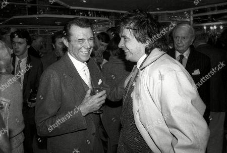 Foyles Lunch at the Dorchester Hotel Dirk Bogarde with David Bailey