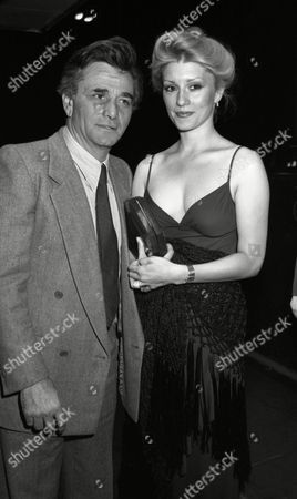 Frank Sinatra Party at the Savoy Hotel Peter Falk with His Wife Shera Danese