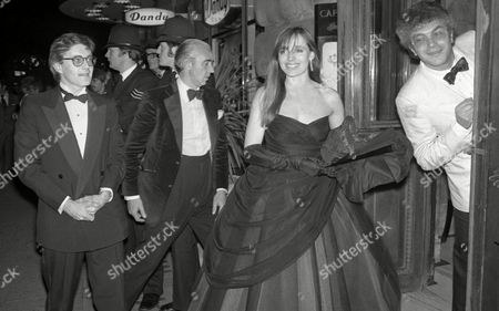 Lord Brooks Holds A Party at the Cafe Royal Lyndall Hobbs and Michael White
