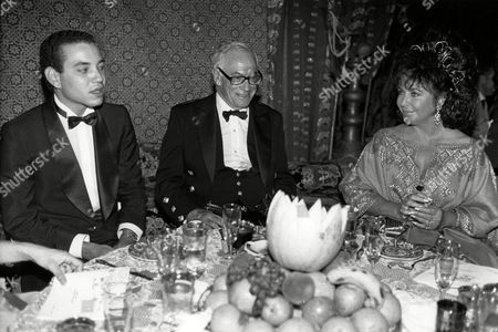 Ali-dada's Arabian Night the Crown Prince of Tangier Malcolm Forbes and Elizabeth Taylor