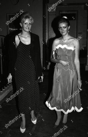 Mazandi Party Annabel Heseltine and Petronella Wyatt